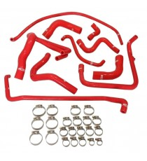 Silicone 10 Coolant Hoses PEUGEOT 205 GTI XU5JA and XU9JA before 1991 (with modine)