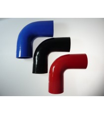 80mm - 90° Elbow Silicone - REDOX