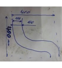 2 Turbocharger Air Silicone Hoses ALFA ROMEO 159 SW 2.0 JTD 170cv 2005-2012