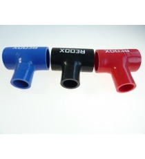 38mm -  T Piece Silicone Hose - REDOX
