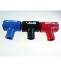 45mm - T Piece Silicone Hose - REDOX