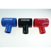 48mm - T Piece Silicone Hose - REDOX