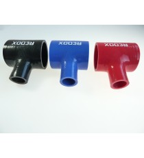 54mm - T Piece Silicone Hose - REDOX