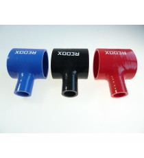 63mm - T Piece Silicone Hose - REDOX