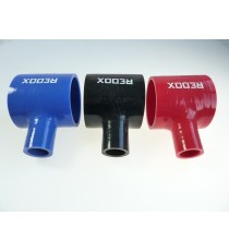70mm - T Piece Silicone Hose - REDOX