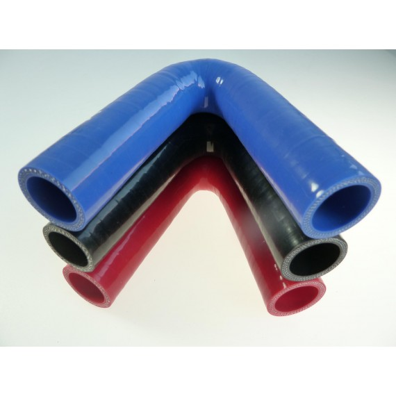 25mm - Coude 135° silicone - REDOX