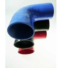 57mm Length 200mm - 90° Elbow Silicone - REDOX