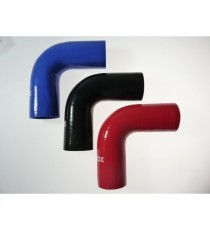 51mm Length 200mm - 90° Elbow Silicone - REDOX