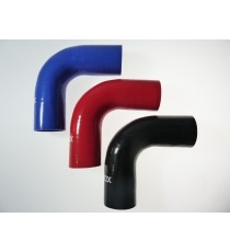 48mm Length 150mm - 90° Elbow Silicone - REDOX