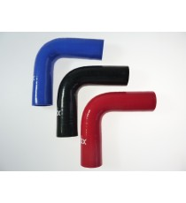 35mm Length 150mm - 90° Elbow Silicone - REDOX