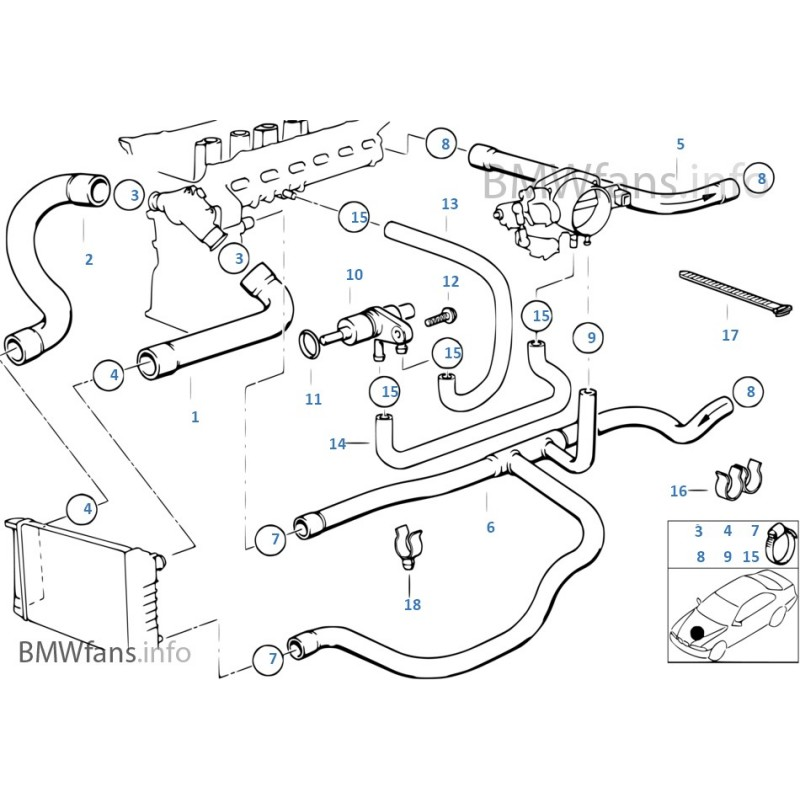 2003 Bmw 325ci Engine Diagram