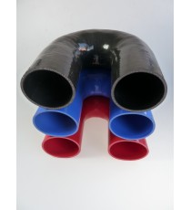 102mm - 180° Elbow Silicone - REDOX