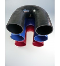 90mm - 180° Elbow Silicone - REDOX