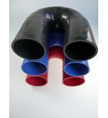 85mm - 180° Elbow Silicone - REDOX