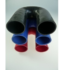 54mm - 180° Elbow Silicone - REDOX