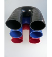 80mm - 180° Elbow Silicone - REDOX