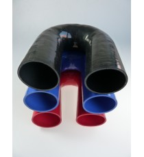 76mm - 180° Elbow Silicone - REDOX