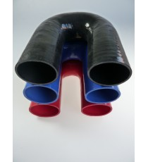70mm - 180° Elbow Silicone - REDOX