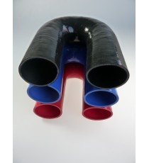 63mm - 180° Elbow Silicone - REDOX