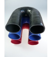60mm - 180° Elbow Silicone - REDOX