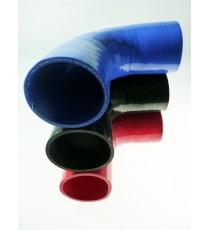 95mm - Coude 90° silicone - REDOX