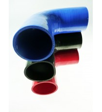 90mm - Coude 90° silicone - REDOX