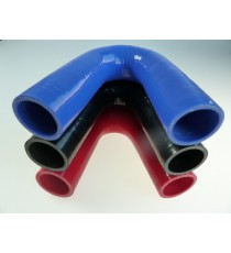 35mm - Coude 135° silicone - REDOX
