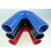 38mm - Coude 135° silicone - REDOX