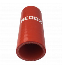 35mm - straight sleeve, internal hydrocarbon resistant 100mm length - REDOX