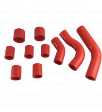 10 silicone air hoses kit REDOX for RENAULT Safrane Bi-turbo LHD 1993-1996