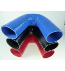 80mm - Coude 135° silicone - REDOX