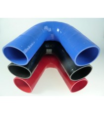 76mm - Coude 135° silicone - REDOX