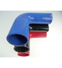 70-76mm - Réducteur 90° silicone - REDOX