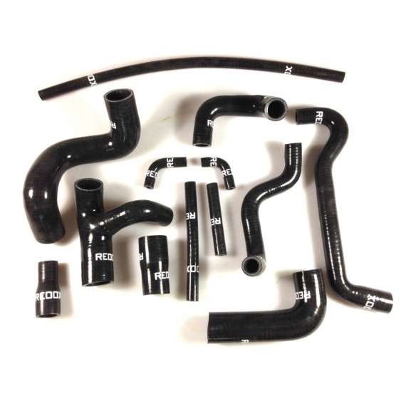 13 silicone coolant hoses kit REDOX for BMW M3 E30 LHD