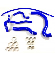 5 silicone coolant hoses kit REDOX for PEUGEOT 206 S16 LHD 2.0 16V 136cv without Water/Oil Exchanger since OPR 09492